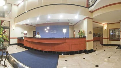 Reception | Holiday Inn Express Hotel & Suites Fairfield - North
