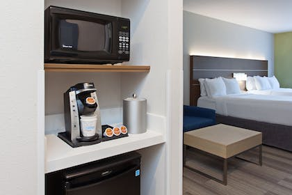 In-Room Amenity | Holiday Inn Express Hotel & Suites Corona