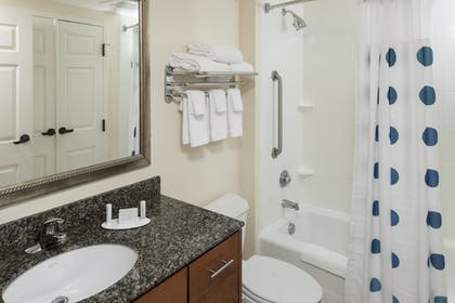 Bathroom | TownePlace Suites by Marriott Suffolk Chesapeake