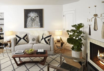 Living Area | The Landsby