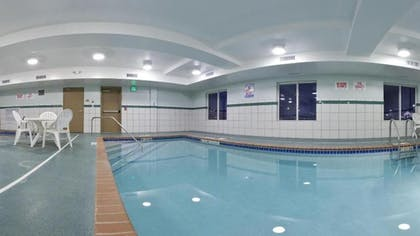 Indoor Pool | Holiday Inn Express & Suites Minot