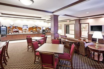 Breakfast Area | Holiday Inn Express Hotel & Suites Franklin-Oil City