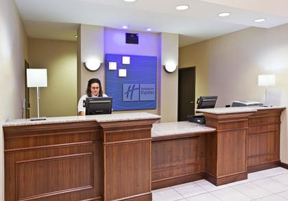 Reception | Holiday Inn Express Hotel & Suites Franklin-Oil City