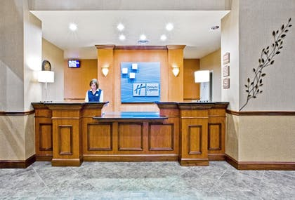 Lobby | Holiday Inn Express Hotel & Suites Lake Placid