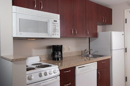 In-Room Kitchen | TownePlace Suites by Marriott at The Villages