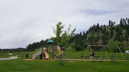 Childrens Play Area - Outdoor | State Game Lodge at Custer State Park Resort