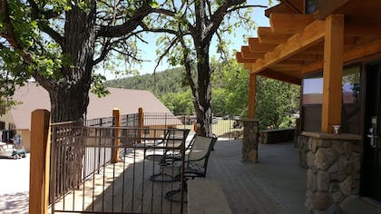 Balcony | State Game Lodge at Custer State Park Resort