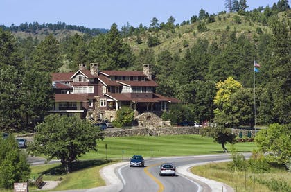 Land View from Property | State Game Lodge at Custer State Park Resort