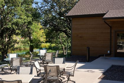 Terrace/Patio | State Game Lodge at Custer State Park Resort