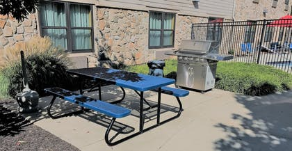 BBQ/Picnic Area | SpringHill Suites by Marriott Omaha East/Council Bluffs, IA