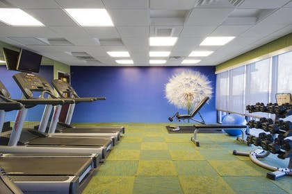 Gym | SpringHill Suites by Marriott Omaha East/Council Bluffs, IA