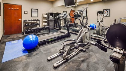 Fitness Facility | Best Western South Plains Inn & Suites
