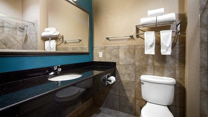Bathroom | Best Western Mineola Inn