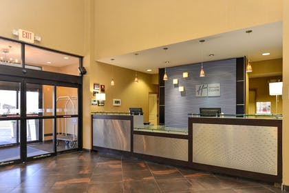 Lobby | Holiday Inn Express Hotel & Suites Dallas South - Desoto