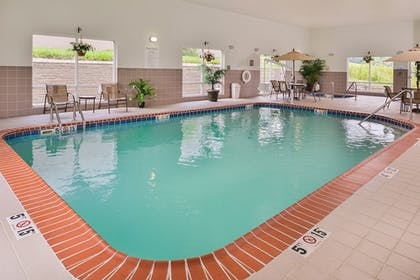 Indoor Pool | Holiday Inn Express & Suites Parkersburg-Mineral Wells