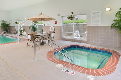Indoor Spa Tub | Holiday Inn Express & Suites Parkersburg-Mineral Wells
