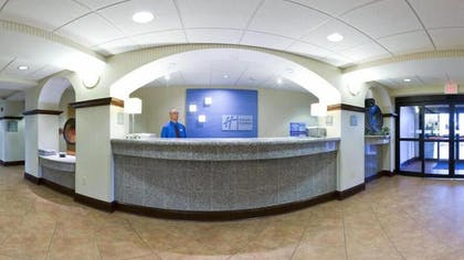Reception | Holiday Inn Express & Suites - Greenwood