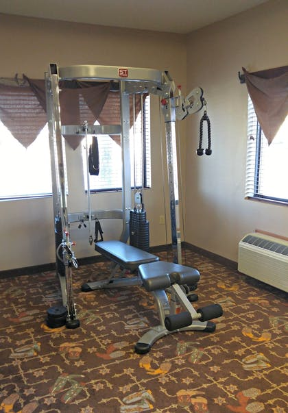 Fitness Facility | Best Western Plus Country Inn & Suites