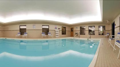 Indoor Pool | Holiday Inn Express Hotel & Suites Grand Blanc