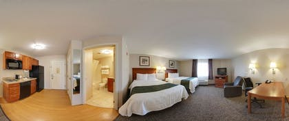 In-Room Kitchenette | Quality Inn & Suites