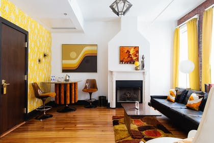 Living Area | The Dwell Hotel