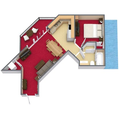 Floor plan | Bay View Resort