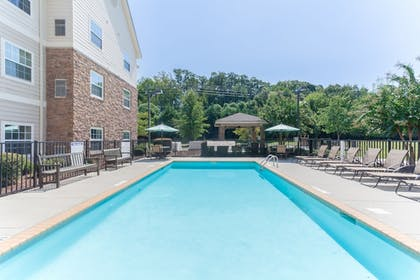 Pool | Staybridge Suites Greenville I-85 Woodruff Road