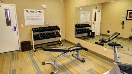 Fitness Facility | Holiday Inn Express & Suites Sioux City - Southern Hills