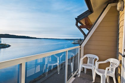 Balcony View | Oxford Suites Silverdale