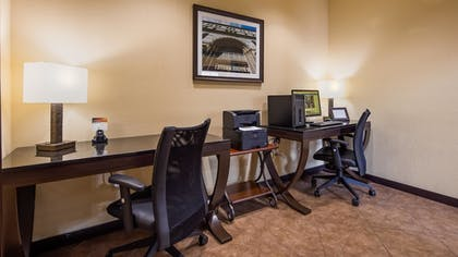 Business Center | Best Western Windsor Pointe Hotel & Suites-at&t Center