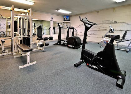Gym | Laurel Point Resort by Capital Vacations