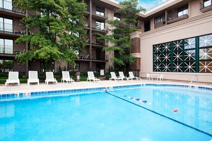 Pool | Holiday Inn Express Rolling Meadows - Schaumburg Area