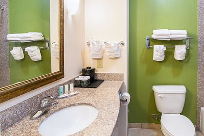 Bathroom | Clarion Inn & Suites Weatherford South