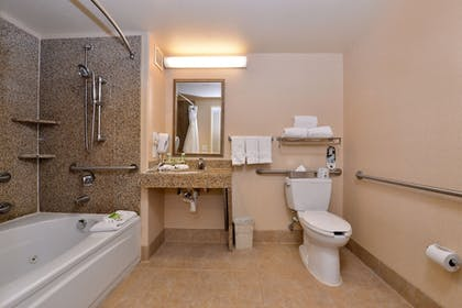 Bathroom | Holiday Inn Express Hotel & Suites Lincoln