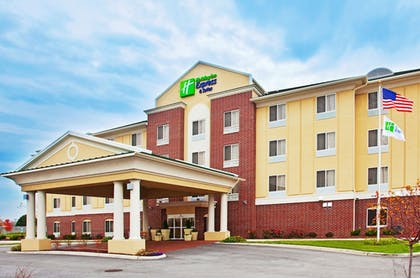 Exterior   Holiday Inn Express Hotel & Suites Chicago South Lansing