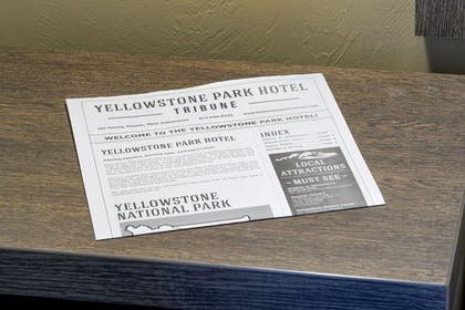 Guestroom | Yellowstone Park Hotel