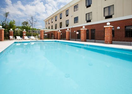 Pool | Holiday Inn Express Hotel & Suites Greensboro - East