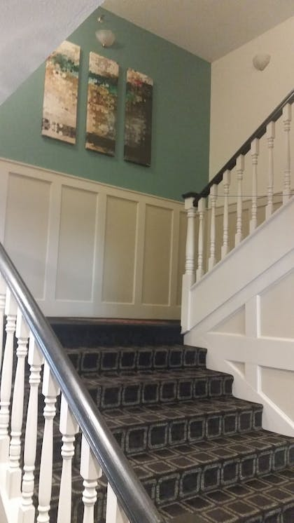 Staircase | Northfield Inn, Suites & Conference Center