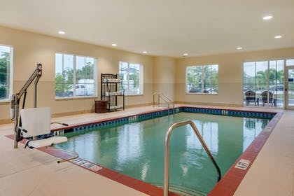 Pool | Comfort Inn & Suites Airport