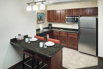 In-Room Kitchen | Residence Inn by Marriott Tucson Airport