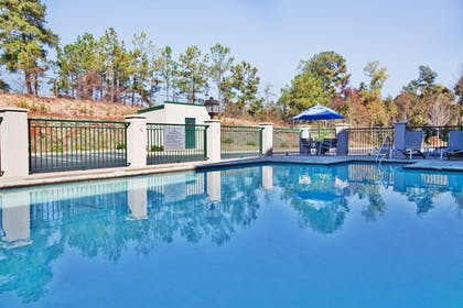 Pool | Holiday Inn Express Hotel & Suites Macon-West