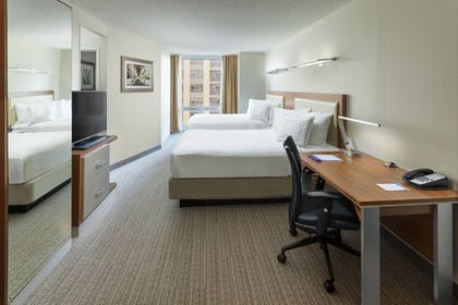 Guestroom | Springhill Suites by Marriott Chicago Downtown/ River North