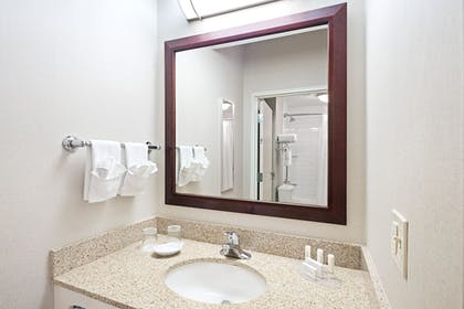 Bathroom | SpringHill Suites by Marriott Denver Airport