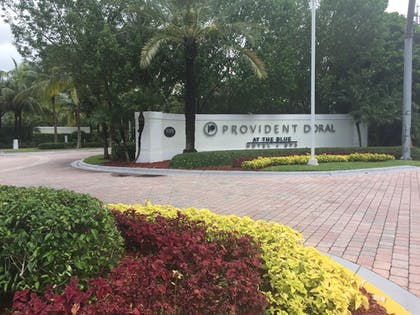 Hotel Front | Provident Doral at The Blue Miami