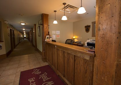 Reception   The Red Mill Inn