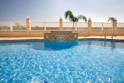 Pool | Holiday Inn Express Hotel and Suites of Falfurrias