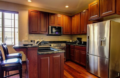 In-Room Kitchen | The Wildwood Hotel