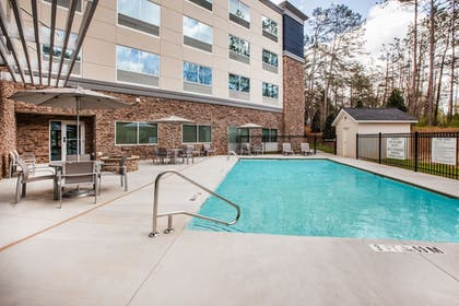 Pool | Holiday Inn Express Hotel & Suites Canton