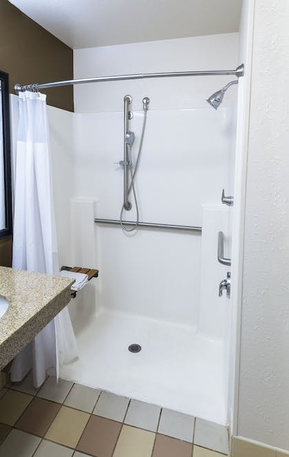 Bathroom Shower | Fairfield Inn & Suites Marianna