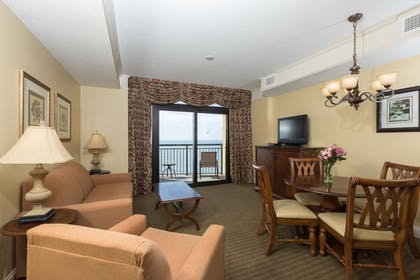 Living Area | Anderson Ocean Club and Spa by Oceana Resorts